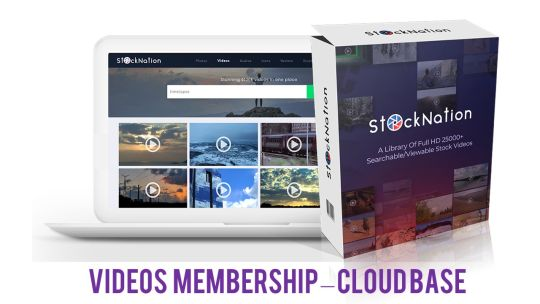 StockNation: Download Anytime 25,000 HD Videos in your membership