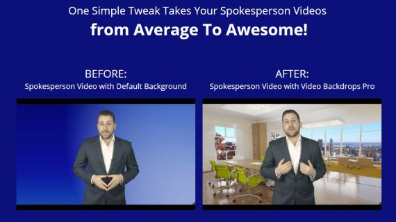Take Your Spokesperson & Green Screen  Videos To The Next Level